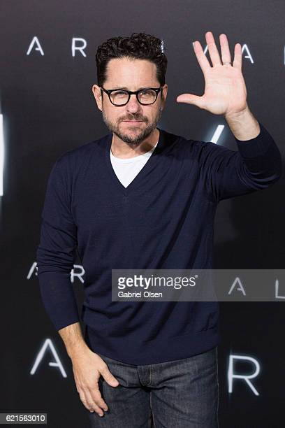 J Abrams arrives for the Premiere Of Paramount Pictures' 'Arrival' at Regency Village Theatre on November 6 2016 in Westwood California