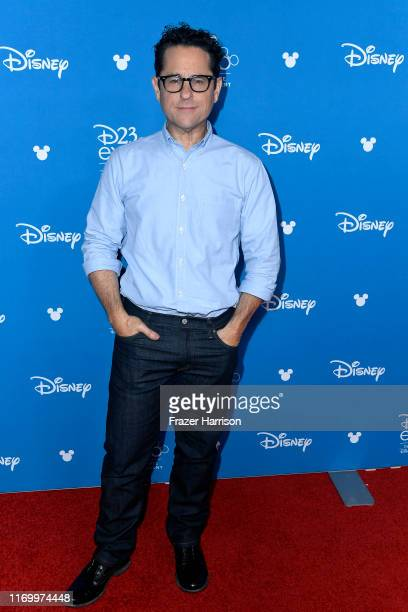 J Abrams attends Go Behind The Scenes with Walt Disney Studios during D23 Expo 2019 at Anaheim Convention Center on August 24 2019 in Anaheim...