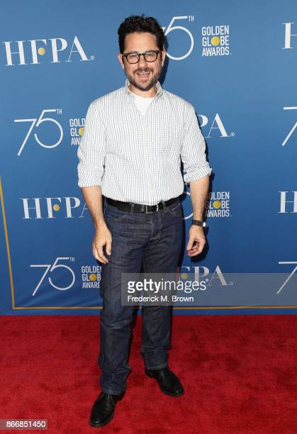 J Abrams attends Hollywood Foreign Press Association Hosts Television Game Changers Panel Discussion at The Paley Center for Media on October 26 2017...