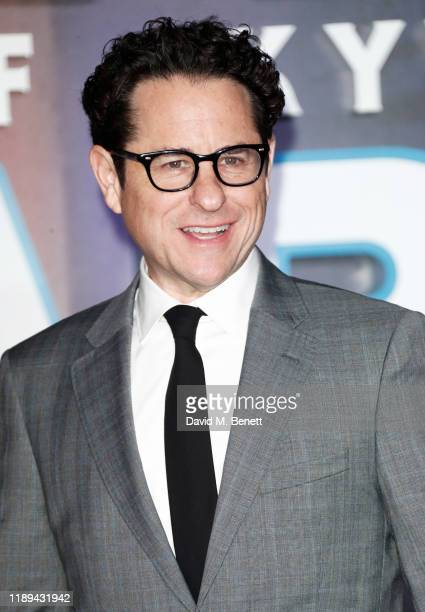 J Abrams attends the European Premiere of Star Wars The Rise of Skywalker at Cineworld Leicester Square on December 18 2019 in London England