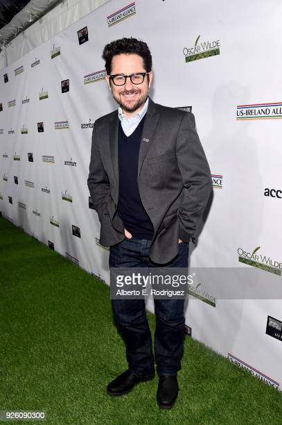 J Abrams attends the Oscar Wilde Awards 2018 at Bad Robot on March 1 2018 in Santa Monica California