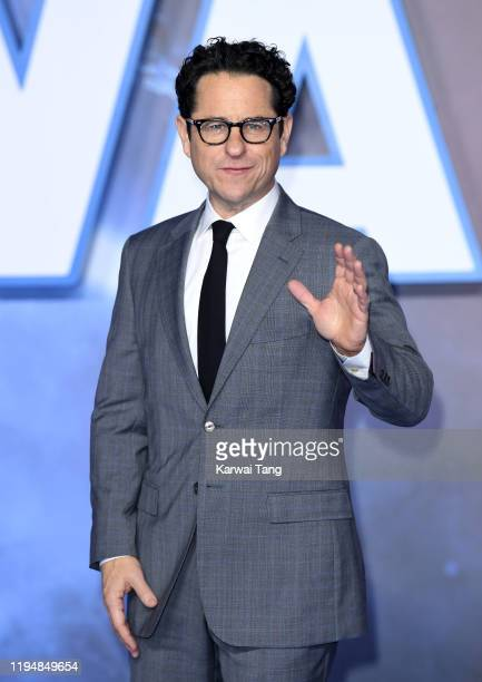 J Abrams attends the Star Wars The Rise of Skywalker European Premiere at Cineworld Leicester Square on December 18 2019 in London England