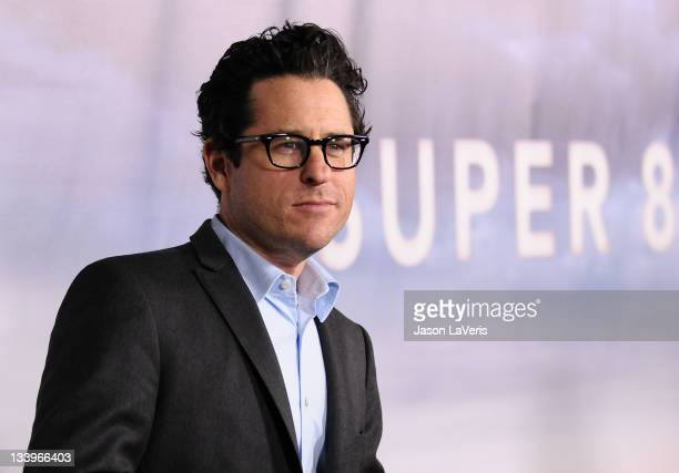 """Abrams attends the """"Super 8"""" blu-ray and DVD release party at AMPAS Samuel Goldwyn Theater on November 22, 2011 in Beverly Hills, California."""