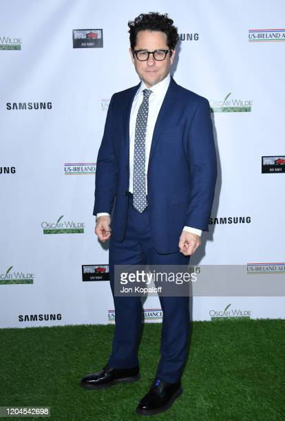 J Abrams attends USIreland Alliance's 15th Annual Oscar Wilde Awards at Bad Robot on February 06 2020 in Santa Monica California