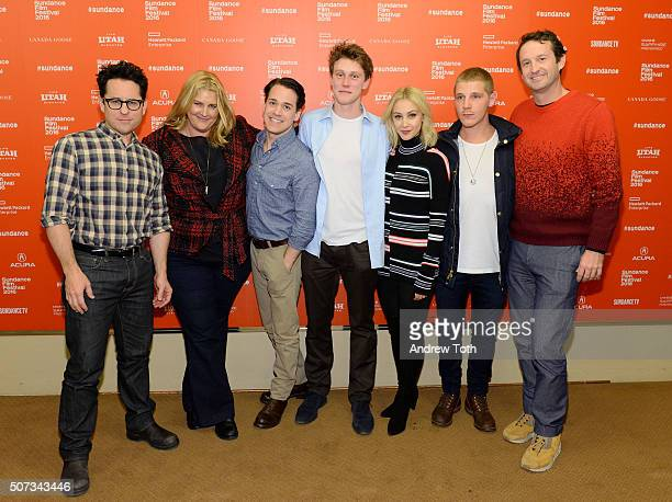 JJ Abrams Bridget Carpenter TR Knight George MacKay Sarah Gadon Daniel Webber and Trevor Groth attend the 112263 Sundance premiere on January 28 2016...