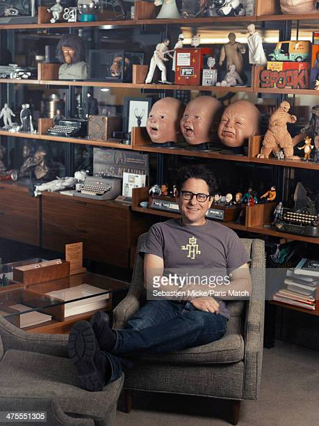 Abrams the film director of the next Star Wars is photographed for Paris Match in his studio Bad Robot in Los Angeles United States on January 16 2014