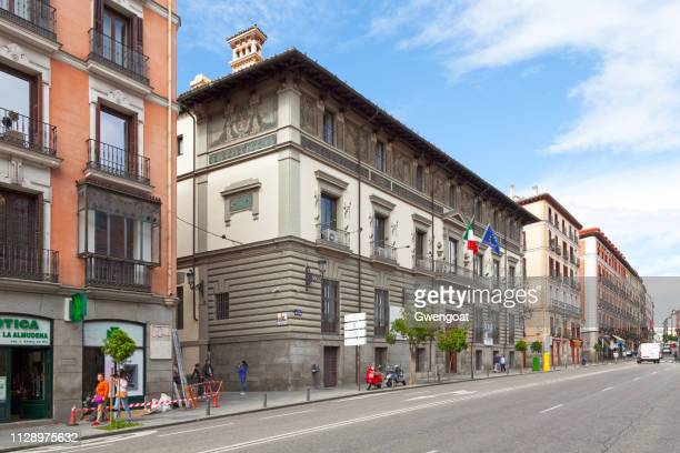 abrantes palace in madrid - gwengoat stock pictures, royalty-free photos & images