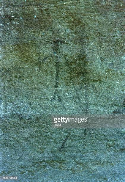 Abrigo del Navazo Albarracin Teruel Prehistoric art Paleolithic rock painting