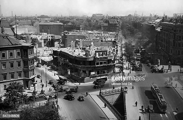 Abriss des 'Hauses des Deutschen Fremdenverkehrs'Aufnahme Paul Maierschienen in BIZ 25/1938