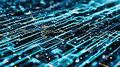 Abs Hologram Data flow grid