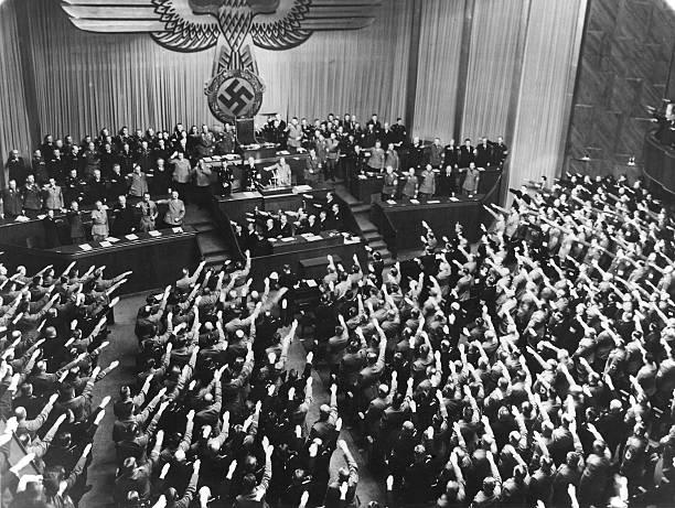 Reichstag 30011937 Hitler Kündigt D Vertrag V Versailles Z 4