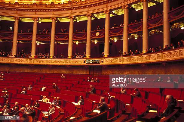 Absenteeism National Assembly On January 29th In Paris France