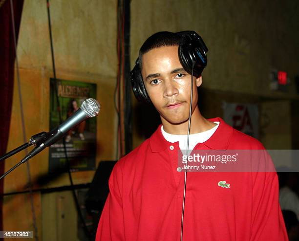 DJ Absolute during Alchemist Album Realease Party and Concert September 22 2004 at SOB in New York City New York United States