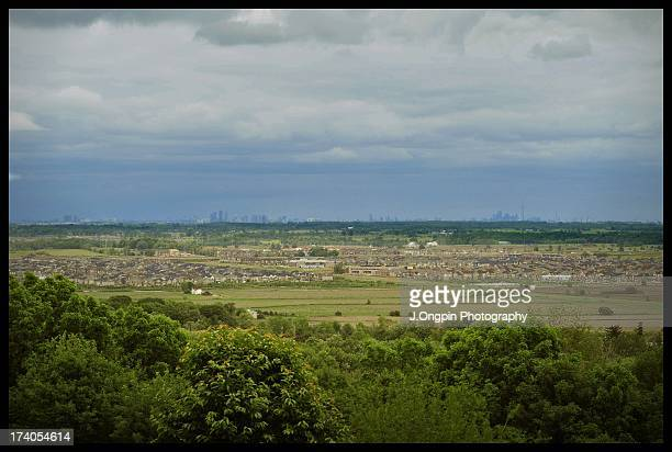 absolute sprawl - mississauga stock pictures, royalty-free photos & images