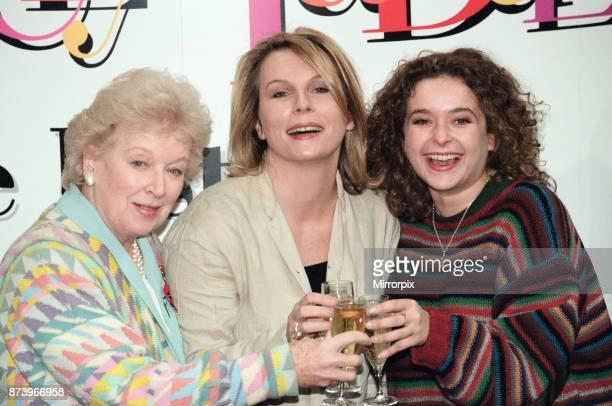 Absolutely Fabulous video launch June Whitfield Jennifer Saunders and Julia Sawalha 11th November 1996