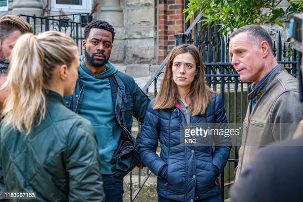 D Absolution Episode 709 Pictured LaRoyce Hawkins as Officer Kevin Atwater Marina Squerciati as Officer Kim Burgess Jason Beghe as Sgt Hank Voight