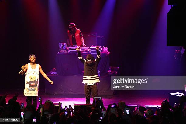 AbSoul performs at Irving Plaza on October 6 2014 in New York City