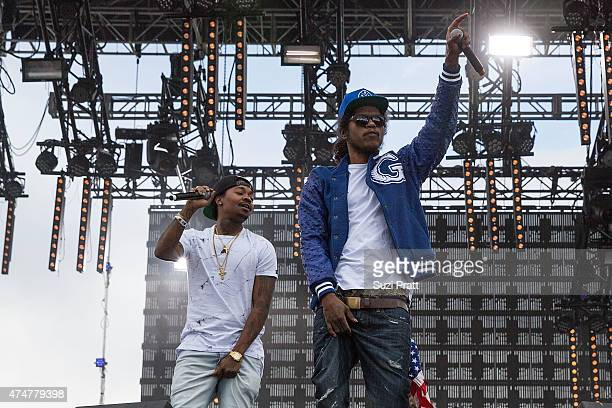 AbSoul performs at the Sasquatch Music Festival at The Gorge on May 25 2015 in George Washington
