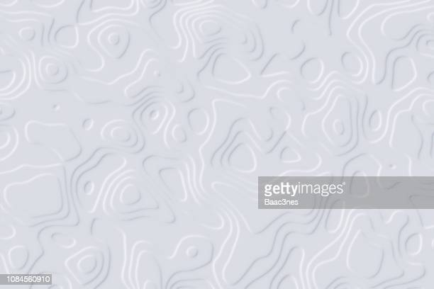 Abstrackt background - contour lines - paper cut out