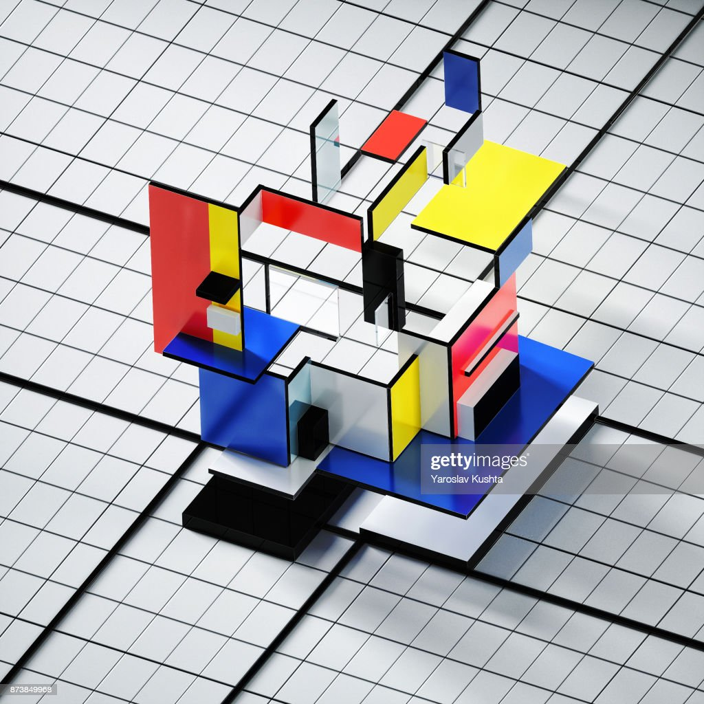 Abstract 3d shapes : Stock Photo