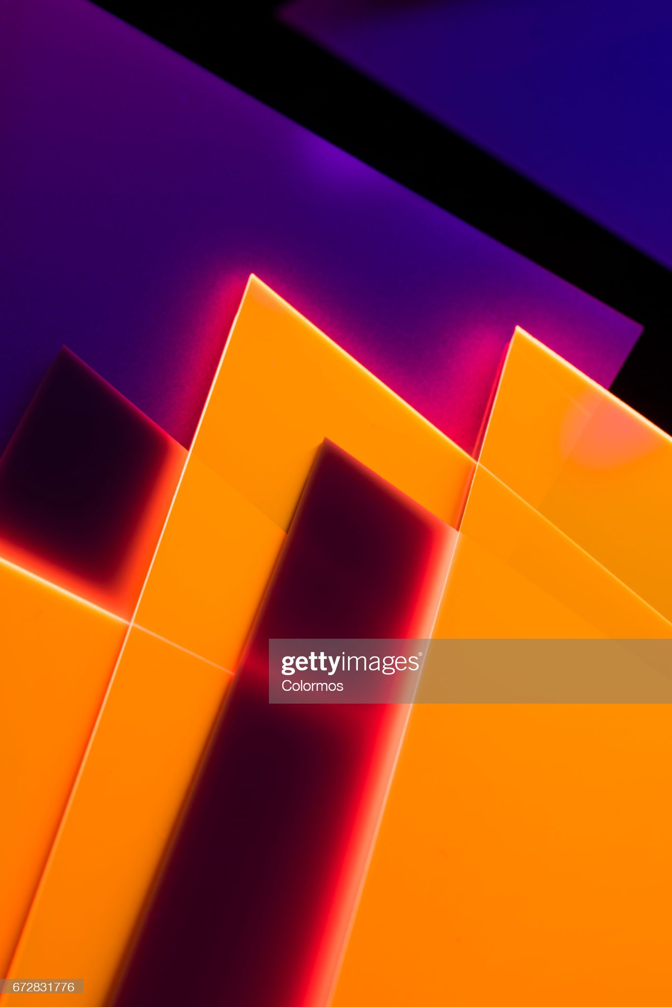 Abstract acrylic structures : Stock Photo