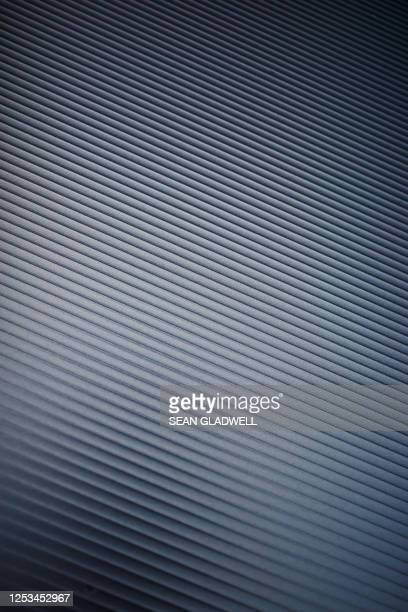 abstract aluminum background - silver coloured stock pictures, royalty-free photos & images