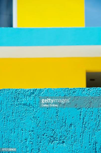 abstract architectural detail on isla mujeres - isla mujeres ストックフォトと画像