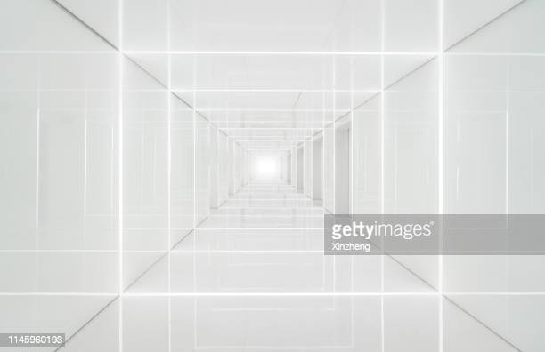 3d abstract architecture background - パース ストックフォトと画像
