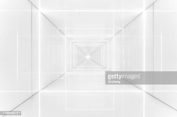 3d abstract architecture background - reflexo efeito de luz - fotografias e filmes do acervo