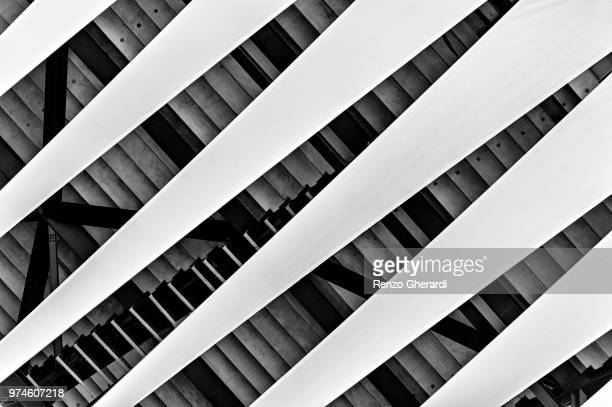 abstract architecture, east village, london, england, uk - renzo gherardi stock photos and pictures