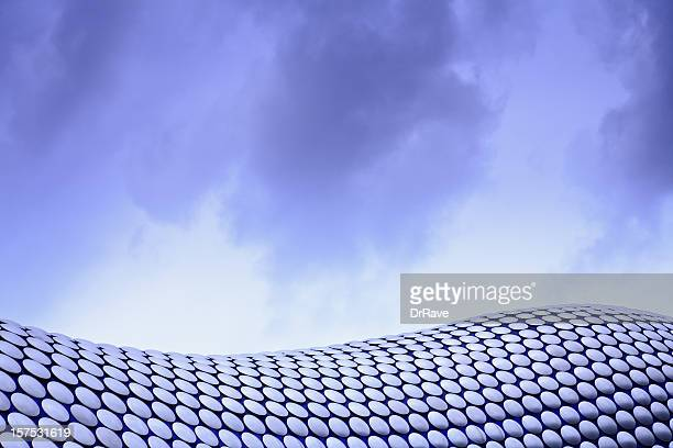 Abstract architecture of Bullring Shopping Centre