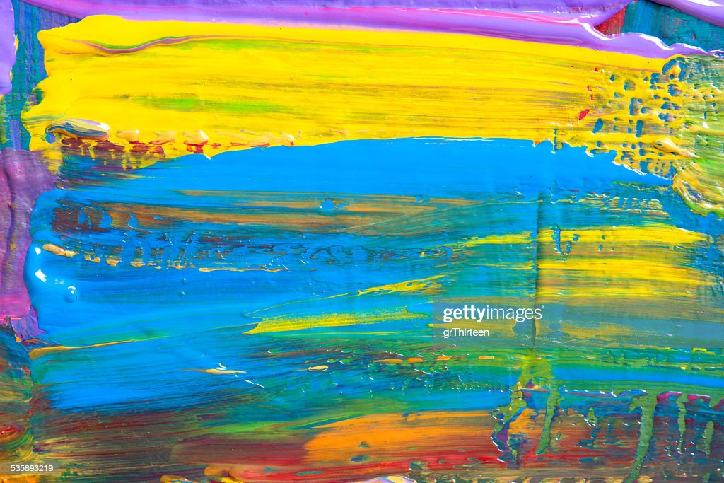 Abstract art background. Hand-painted background : Stock Photo