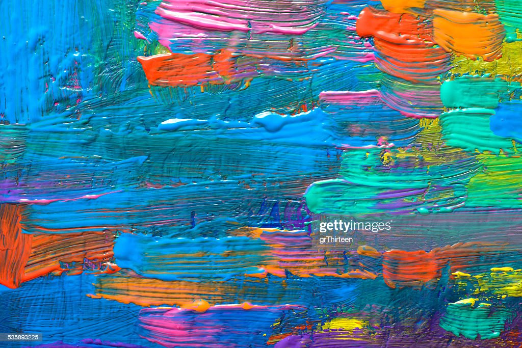Abstract art-Hintergrund.   Handbemalte Hintergrund : Stock-Foto