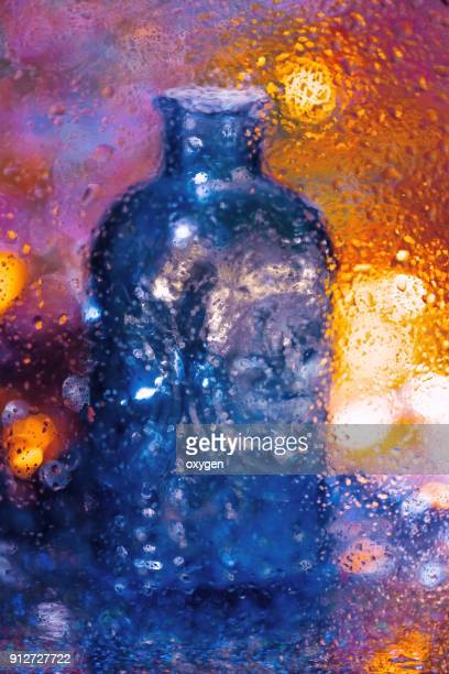 Abstract Art Bottle background