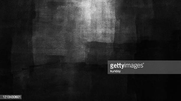 abstract background from black color painted on white wall. art backdrop. - 汚れた ストックフォトと画像
