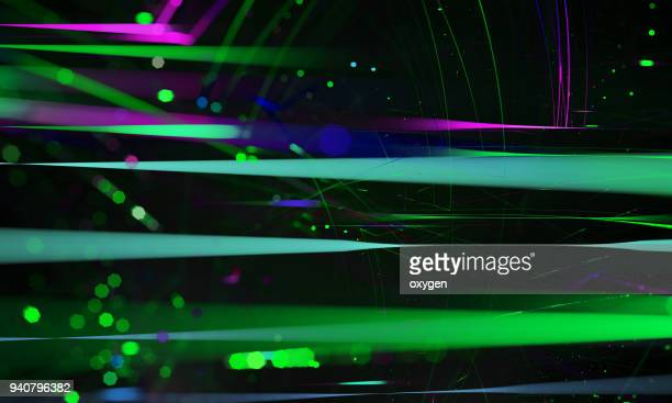 abstract background of light lines
