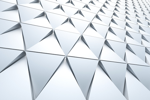 Abstract background of polygonal shape 941677650