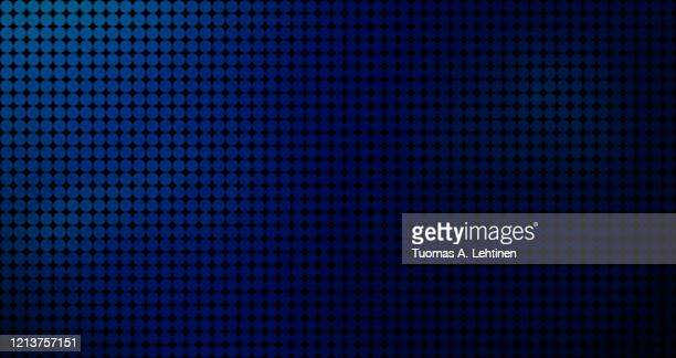 abstract background of round dots, color gradient from blue to dark blue. - dark blue stock pictures, royalty-free photos & images