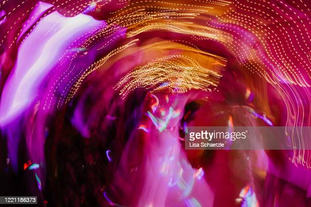 abstract background - people dancing at a party - image stock pictures, royalty-free photos & images