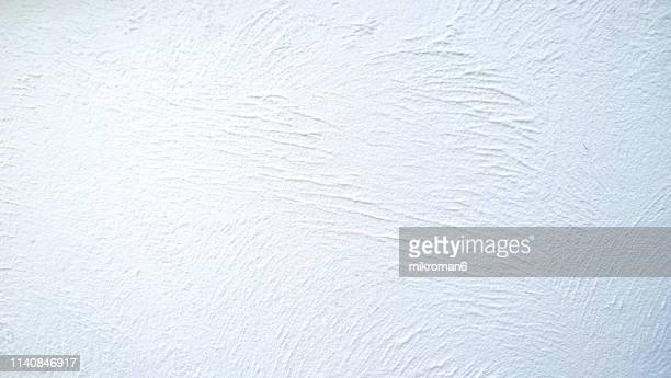 abstract background texture concrete or plaster hand made wall - stucco stock pictures, royalty-free photos & images