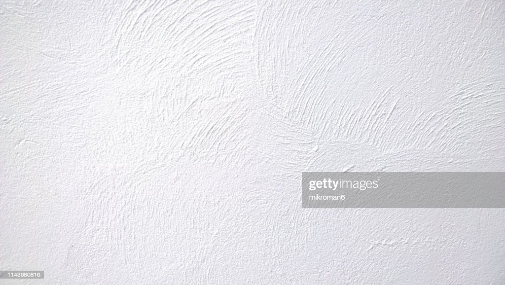 Abstract background texture concrete or plaster hand made wall : Stock Photo