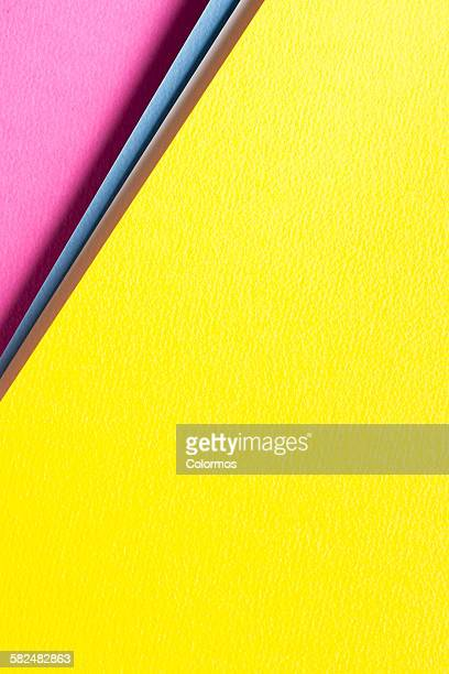 Abstract background with color papers