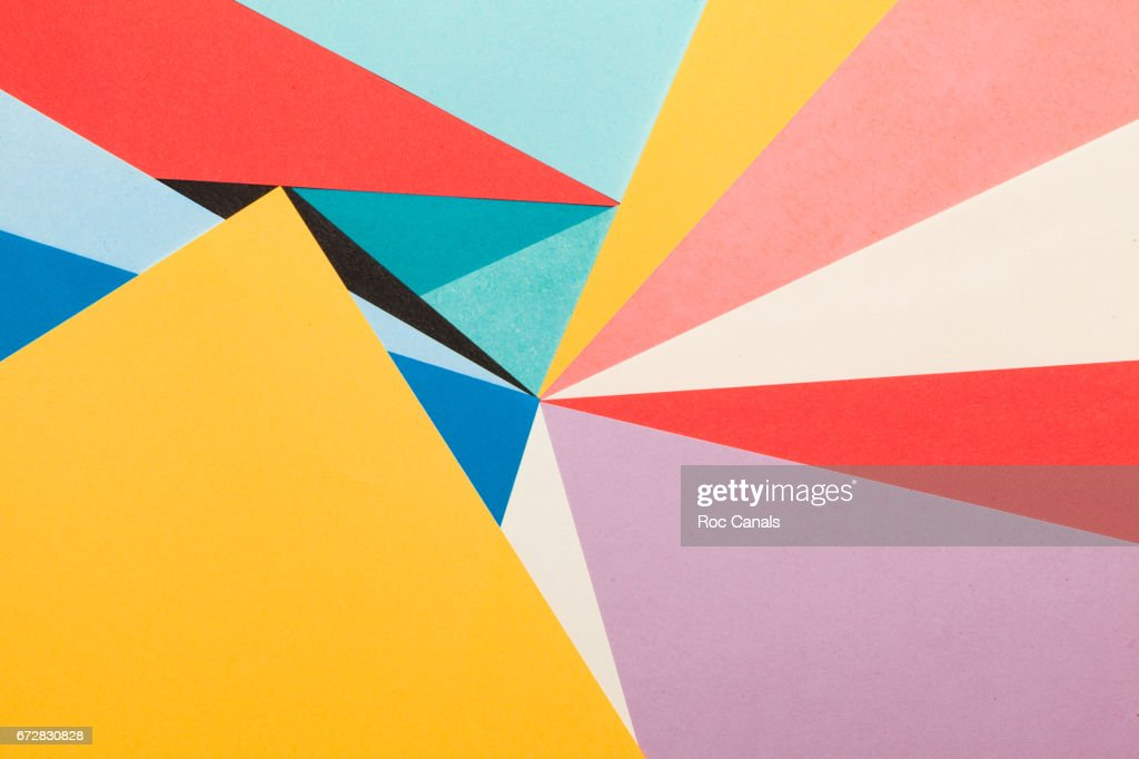 Abstract Background With Color Papers Stock Photo   Getty Images