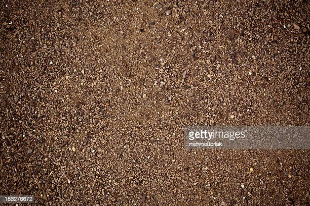 abstract background with playground sand texture - gravel stock pictures, royalty-free photos & images