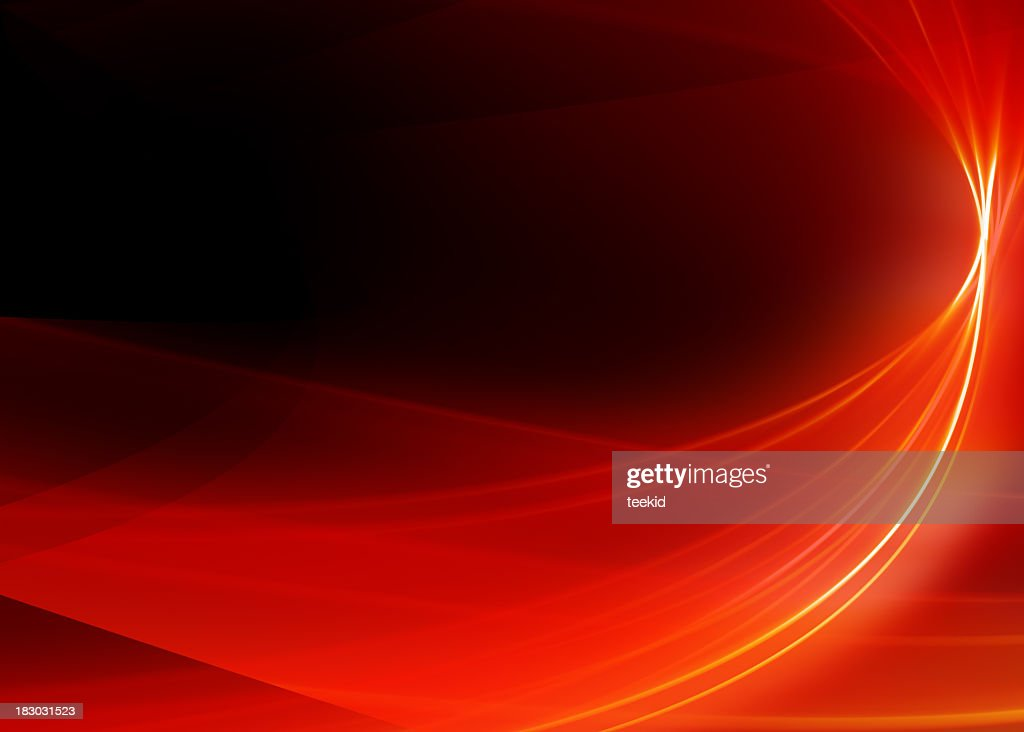 Abstract Background-Red Ribbon-High Quality Rendering : Stock Photo
