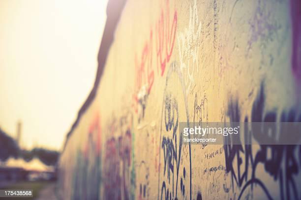 Abstrakte Berliner Mauer graffiti-Deutschland