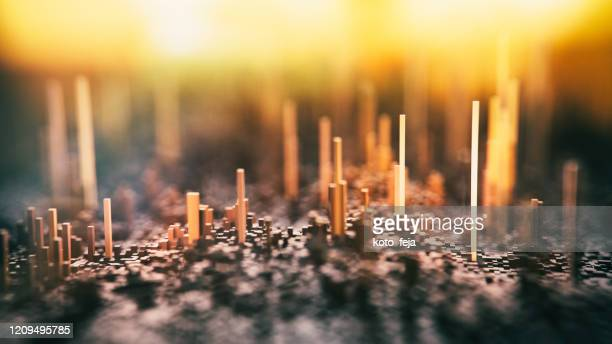 abstract big data - deep learning stock pictures, royalty-free photos & images