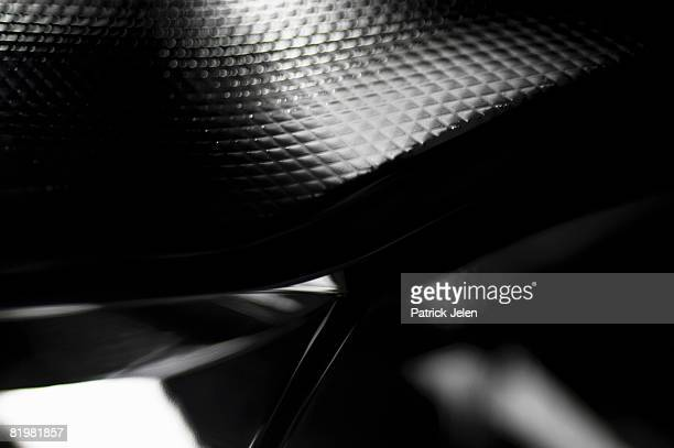 Abstract Black and Silver Background