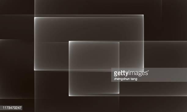 abstract black&white background - insight tv ストックフォトと画像