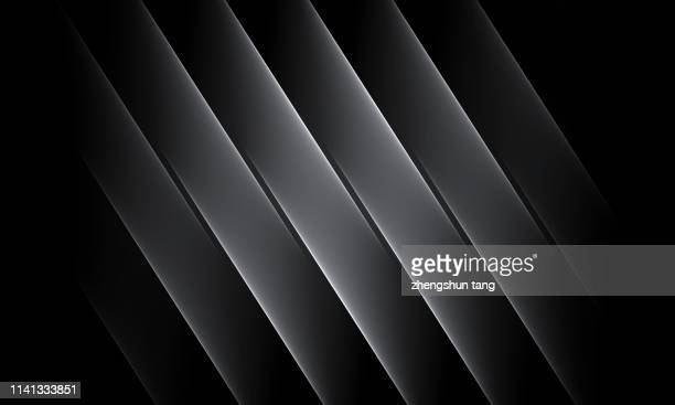 abstract black&white wide lines background - motivo ornamentale foto e immagini stock